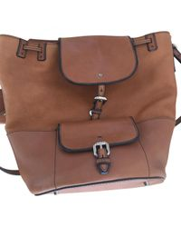 Burberry Pre-owned Brown Leather Handbags