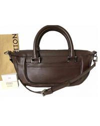 Sac bandoulière en cuir Louis Vuitton en coloris Brown