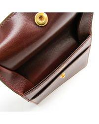 Hermès Brown Leder Portemonnaies