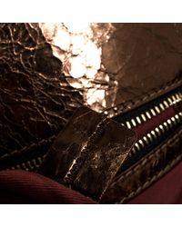 Chloé Brown Héloise Lackleder Handtaschen