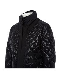 Mantel en Synthétique Noir Moncler en coloris Black