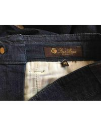 Loro Piana \n Blue Denim - Jeans Trousers