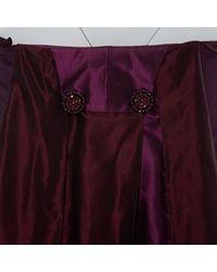 Abiti in seta viola di Nina Ricci in Purple