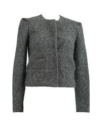 Blouson en laine IRO en coloris Gray