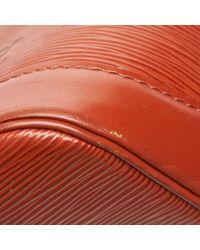 Louis Vuitton Alma Brown Leather Handbag