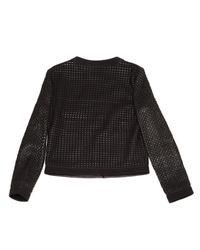 Roberto Cavalli \n Black Leather Jacket