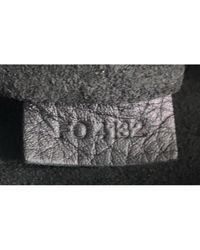 Borsa a mano in pelle nero Lockit di Louis Vuitton in Black