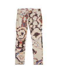 Étoile Isabel Marant Multicolor Straight Jeans
