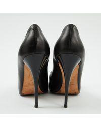 Scarpe col tacco in pelle nero \N di Giuseppe Zanotti in Black