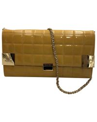 Chanel Green Other Patent Leather Handbag