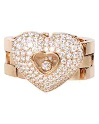 Chopard Multicolor Happy Diamonds Gelbgold Ringe