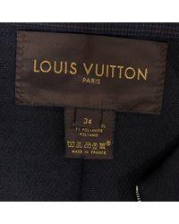 Louis Vuitton Blue Wolle Jacken