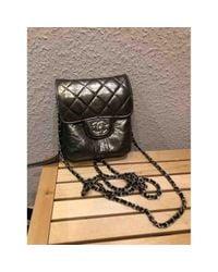 Chanel Metallic Wallet On Chain Leder Cross Body Tashe
