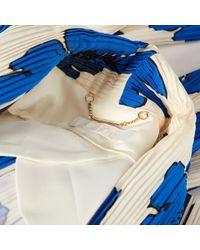 Vest \N en Soie Multicolore Chloé en coloris Blue