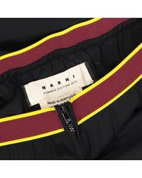 Pantalons en Viscose Noir Marni en coloris Multicolor