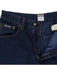 Moschino Gerade jeans in Blue für Herren