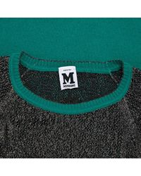 M Missoni Green Wolle Mini Kleid