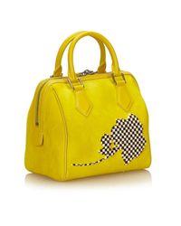 Sacs à main Speedy Louis Vuitton en coloris Yellow