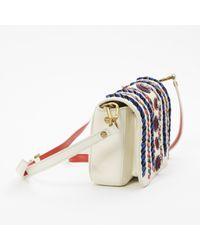 Tory Burch White Leder Handtaschen