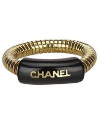 Chanel - Black Pre-owned Ring - Lyst