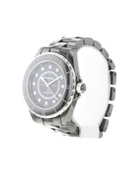 Chanel Metallic J12 Automatique Keramik Uhren