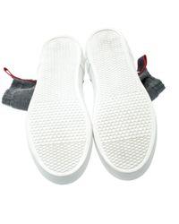 Scarpe da ginnastica in tela grigio di Givenchy in Gray da Uomo