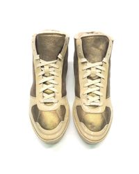 Burberry Multicolor Leder Sneakers