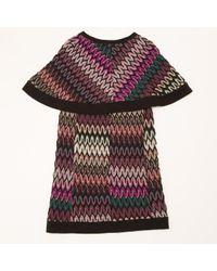 Mini robe en laine Missoni en coloris Multicolor