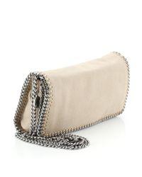 Stella McCartney Brown Falabella Leder Handtaschen
