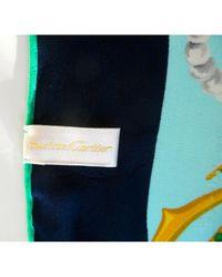 Sciarpa in Seta di Cartier in Blue