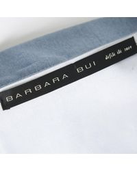 Barbara Bui \n Blue Cotton Top