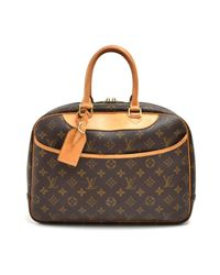 Louis Vuitton Multicolor Deauville Leinen Handtaschen