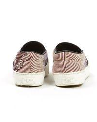 Céline Multicolor Leinen Sneakers