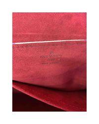 Louis Vuitton White Beverly Leinen Handtaschen