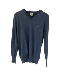 Vivienne Westwood Wolle Pullover in Blue für Herren