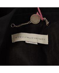 Stella McCartney Black Cardi Coat