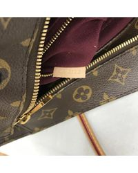 Louis Vuitton Brown Raspail Leinen Shopper