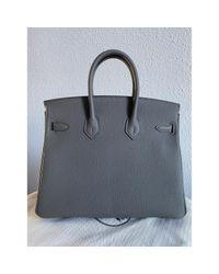 Hermès Gray Birkin 25 Leder Handtaschen