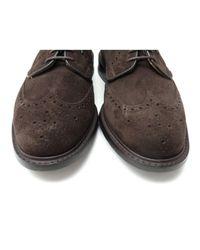 Scarpe derby in scamosciato marrone di Church's in Brown da Uomo