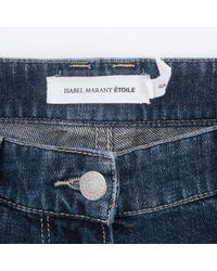 Étoile Isabel Marant Blue Other Cotton Trousers