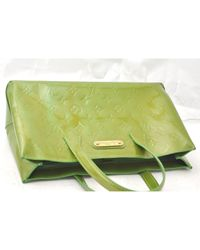 Louis Vuitton Green Patent Leather