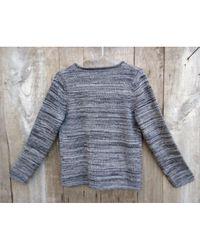Étoile Isabel Marant Gray \n Grey Wool Knitwear