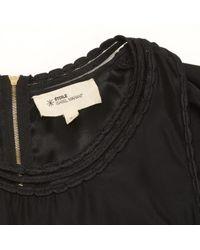 Étoile Isabel Marant Black Silk Dress