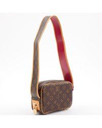 Bolsa de mano en cuero marrón Trocadéro Louis Vuitton de color Brown
