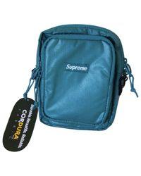Supreme Green Cloth Bag for men