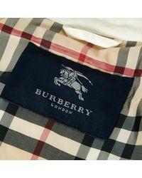 Burberry White Cotton Jacket for men