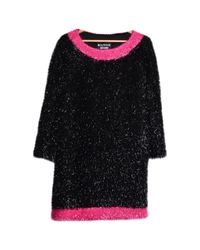 Moschino Black Synthetic Dress
