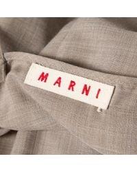 Top en Laine Gris Marni en coloris Gray