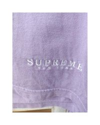 Supreme T-shirts in Purple für Herren
