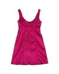 Burberry Pink Viscose Dress